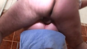 Chick is letting her mature teacher smack her chaste twat
