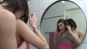 Legal Age Teenager whore opens her face hole widely to welcome a curtain jock