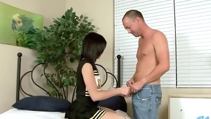 Pretty man is stuffing sweet loving holes of naff hottie